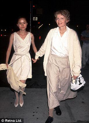 Mia and Soon-Yi in 1991