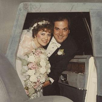 al & caroline wedding