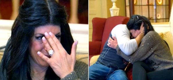 teresa and joe crying