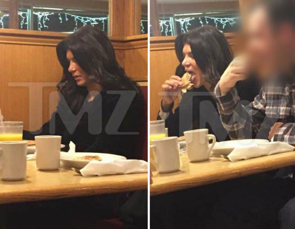 Teresa at diner 2