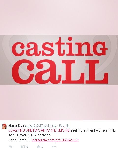 Casting Call Maria