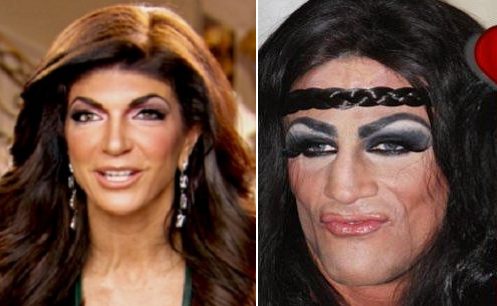 teresa's drag queen lookalike